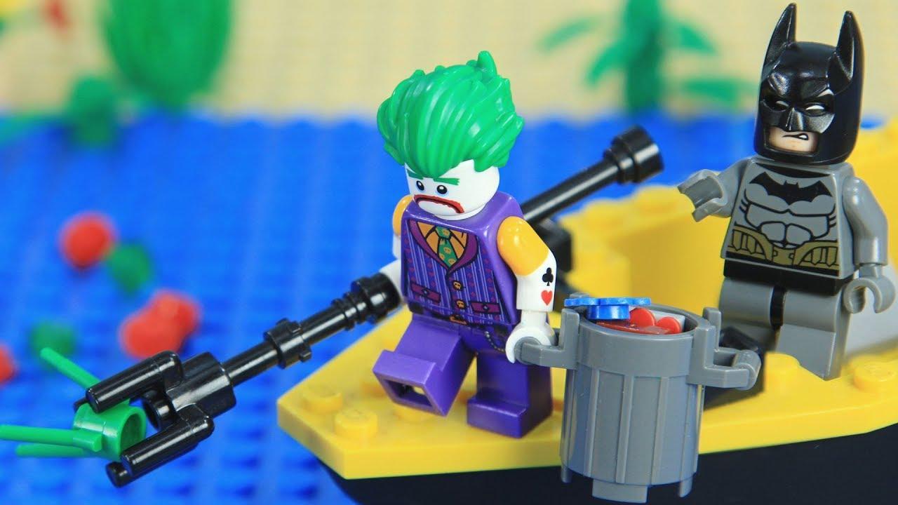 Lego Batman Shark Attack - YouTube