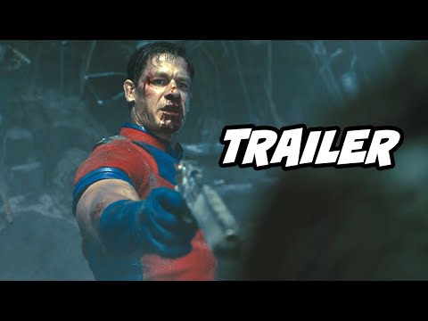 Peacemaker Teaser Trailer 2022: John Cena Suicide Squad and DC Movies Easter Eggs |