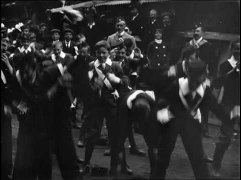 Morecambe Church Lads' Brigade at Drill (1901)