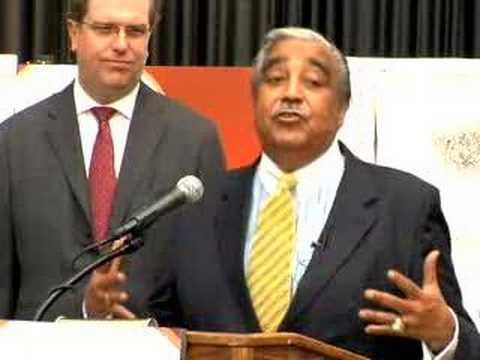 Congressman Charles Rangel Speaks at JA New York Show