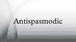 Antispasmodic