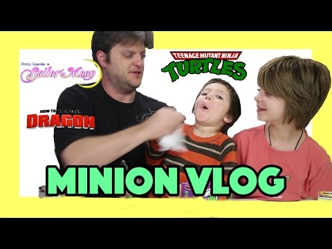 Opening Blinds (Minion Vlog) TMNT, Breaking Bad, Cooper original, Sailor Moon- Day 817 | ActOutGames