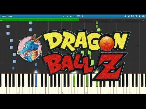 Dragon Ball Z  Chala Head Chala - Synthesia