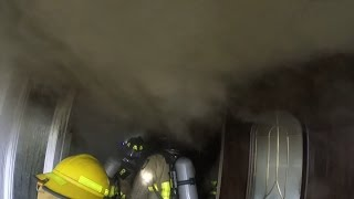 Structure Fire / Attic Fire with Roof Over - FL YouTube Videos