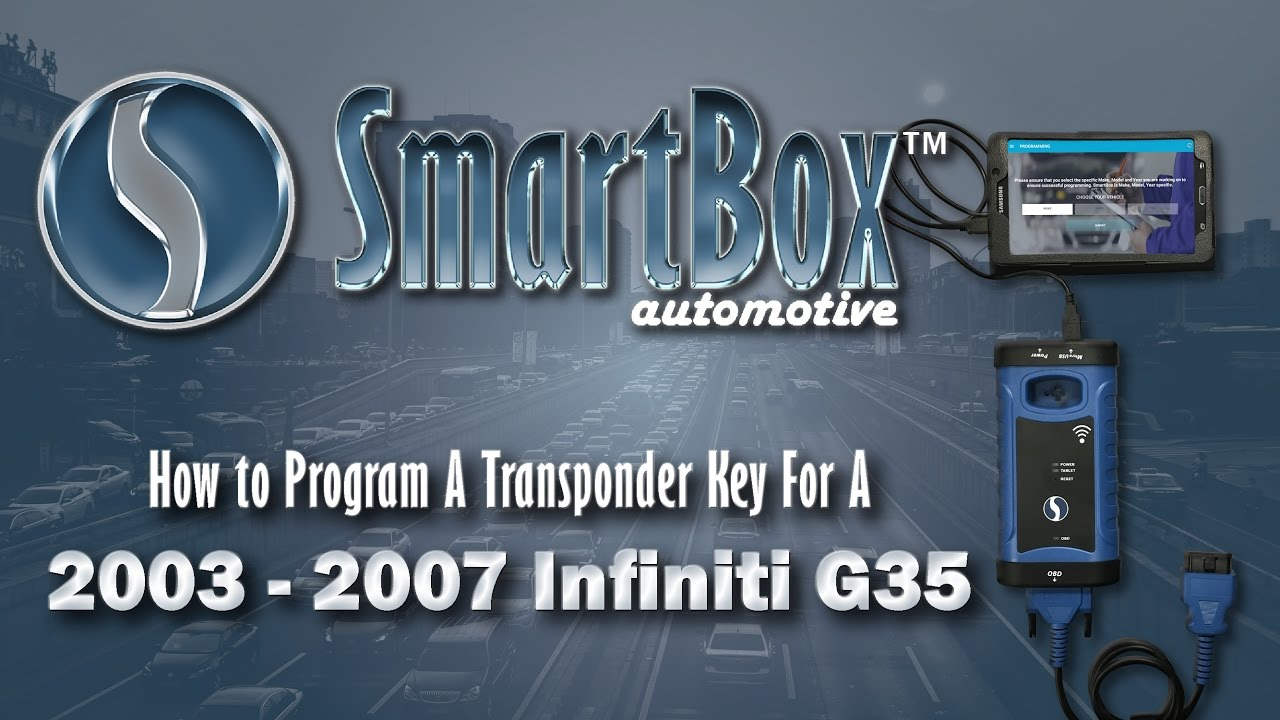 How to Program a Transponder Key to a 2003 - 2007 Infiniti G35