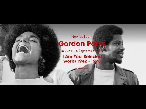 Gordon Parks - I Am You.  Photo exhibit at Foam in Amsterdam