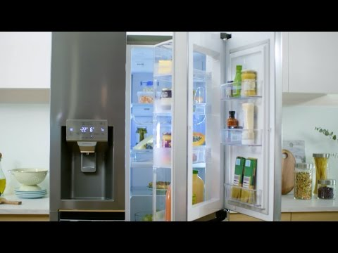 LG Side By Side Fridge - Door in Door