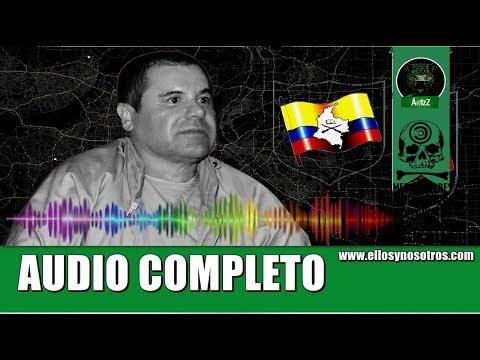 Audio completo de la negociación grabada a Joaquín Guzmán como prueba en su contra