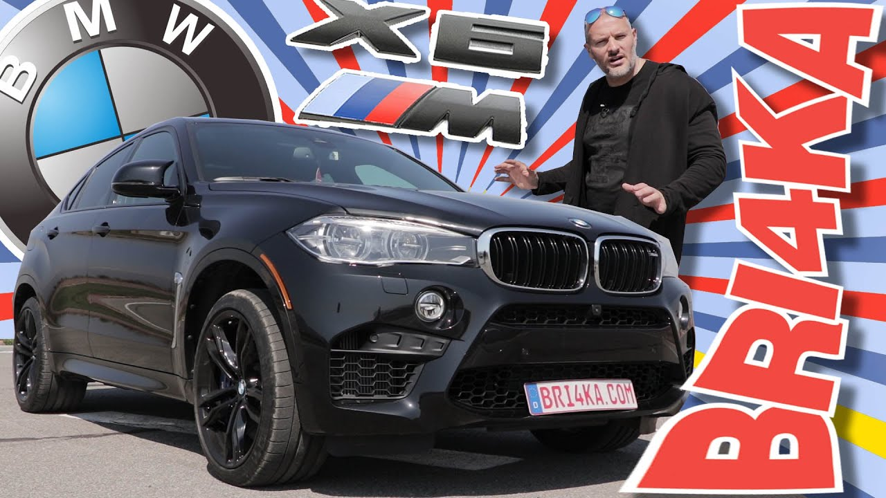 (ВИДЕО) BMW X6 М  F86 - Test and Review - Bri4ka.com