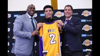 5 Reasons Lonzo Ball's LA Lakers Will Make The Playoffs 2017/2018 Season