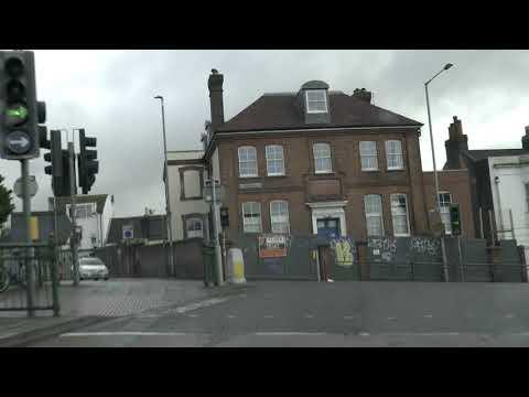 Brighton City Drive, Virtual Tour East Sussex, England, UK 🇬🇧