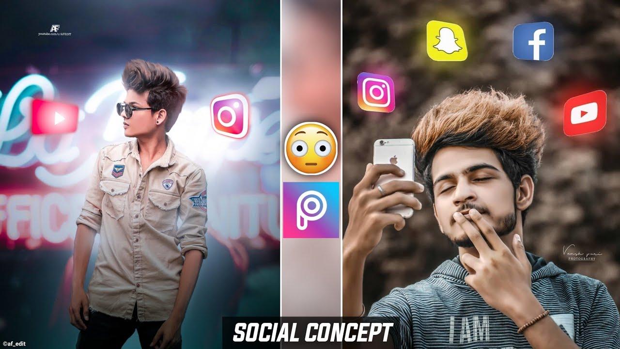 New Picsart Photo Editing / Social Media Photo Editing - AF EDIT