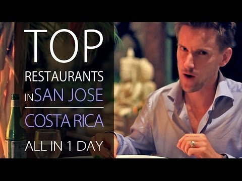 Best Restaurants in Costa Rica - San Jose ALL IN 1 DAY!