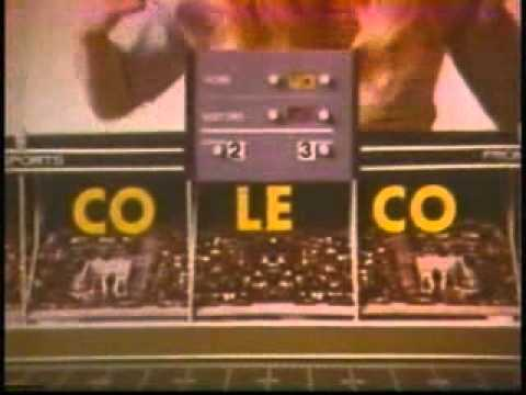 Coleco Electric Football commercial