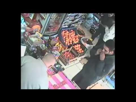Suçüstü yakalanan hırsızlar bakın kimden dayak yedi