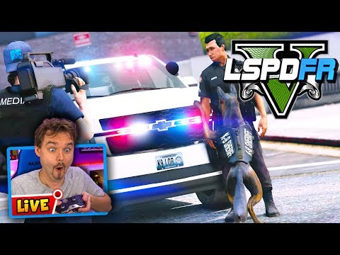 GTA 5 Live PD K9 Lor & Greene County Sheriff | GTA 5 LSPDFR Police Mod Realistic Patrol
