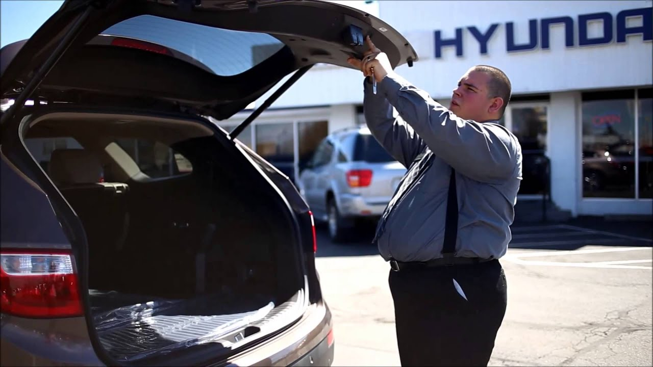 How To Set And Adjust Hyundai Santa Fe Power Liftgate