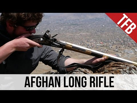 The Afghan Long Rifle or Traditional Jezail