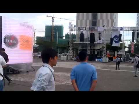 DAS AUDIO - aero 40A Live Outdoor Line Array Sound System Demonstration - 2013