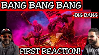 BIGBANG - 뱅뱅뱅 (BANG BANG BANG) M/V | FIRST REACTION!