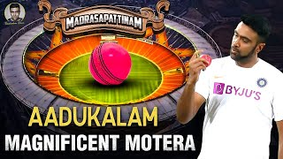 Magnificent Motera | The Pink Ball Test Vlog | Drishyam 2 | R Ashwin