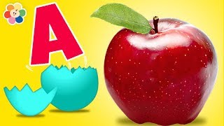 Surprise Eggs | ABC Learning for Kids | Alphabet Compilation | VocabuLarry