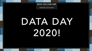 Data Day 2020 - Complete Program