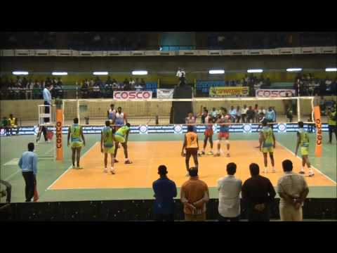 64th Indian National Volleyball Championship QF 4: Karnataka vs Railways