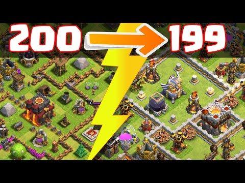 UNTER 200 POKALEN! ☆ Clash of Clans ☆ CoC