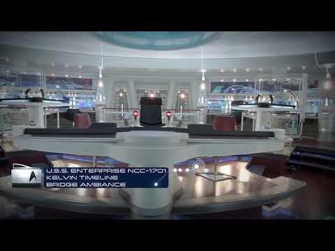 Star Trek   U.S.S. Enterprise NCC 1701 (Kelvin Timeline) - Bridge Ambiance