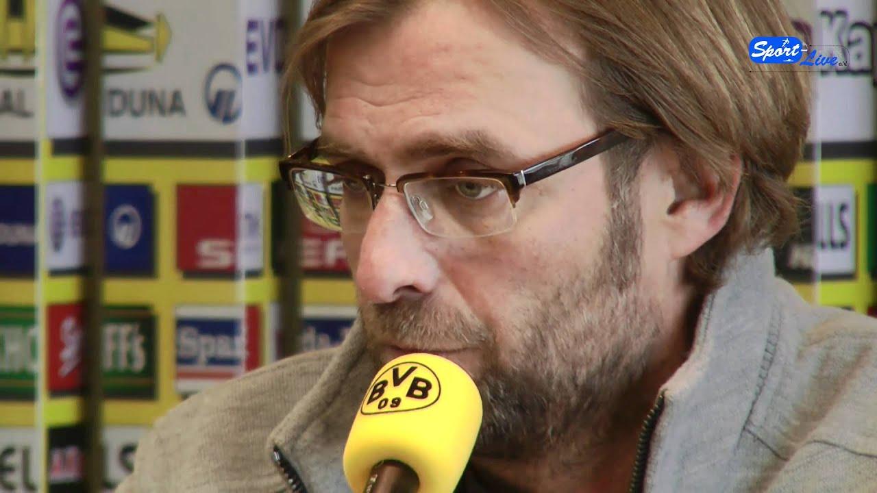 FC Schalke 04 - Borussia Dortmund: Die Pressekonferenz vor dem Spiel mit Jürgen Klopp Teil 1