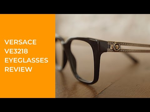 Versace VE3218 Eyeglasses Review - Fancy And High-end