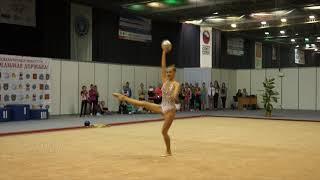 Лоткова Татьяна/  художественная гимнастика / мяч