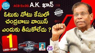 Gambar cover ACB Ex-DG AK Khan Exclusive Interview || Crime Diaries With Muralidhar #25