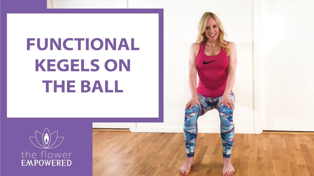 Pelvic Floor Exercises - Functional Kegels on the ball