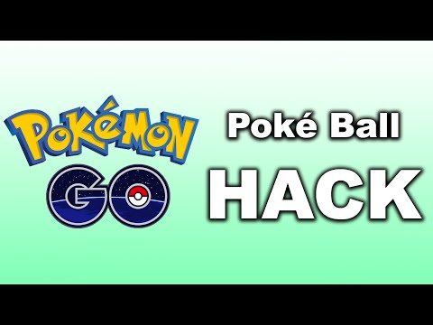 Pokemon GO HACK - Realistic Poke Balls