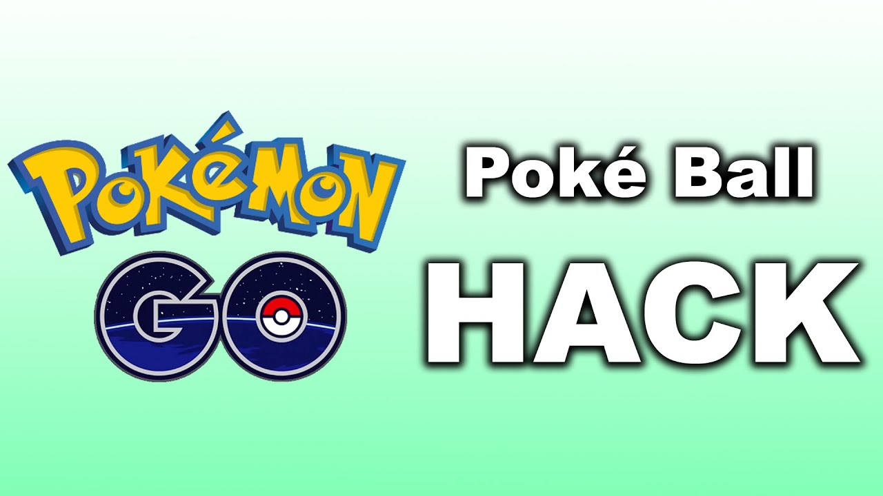 Pokemon GO HACK - Realistic Poke Balls - YouTube