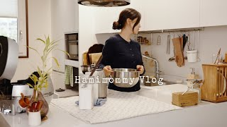 Cleaning Kitchen Appliances with Me l Cooking & Gardening in Spring l Hamimommy Vlog