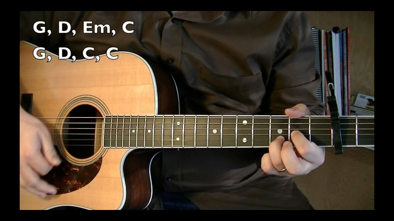 Wagon Wheel - Guitar Lesson (OCMS or Darius Rucker)