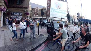 Road Rage at London Critical Mass