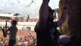 Peter Luts, Sakso & MC Shurakano at Summerfestival 2015 (Versuz)