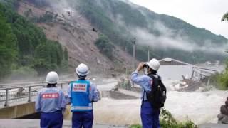 梅雨前線の活発な活動に伴う九州北部の豪雨災害を受け、国土交通省 九州...