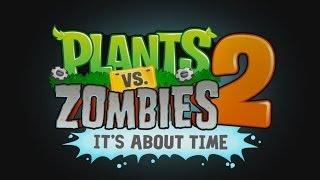 Прохождение игры: Plants vs. Zombies 2 - Растения против Зомби 2. Мини игры: ЗомБотаника.  Боулинг.