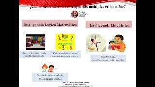 ¿QUÉ son las #INTELIGENCIAS #MULTIPLES?: 3 Ejercicios para aumentarla en #NIÑOS.