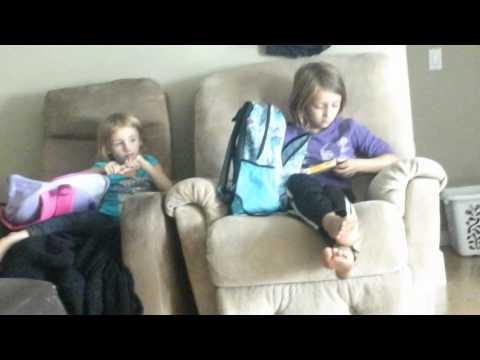 Mercedes and corahlee shows you there school suppl