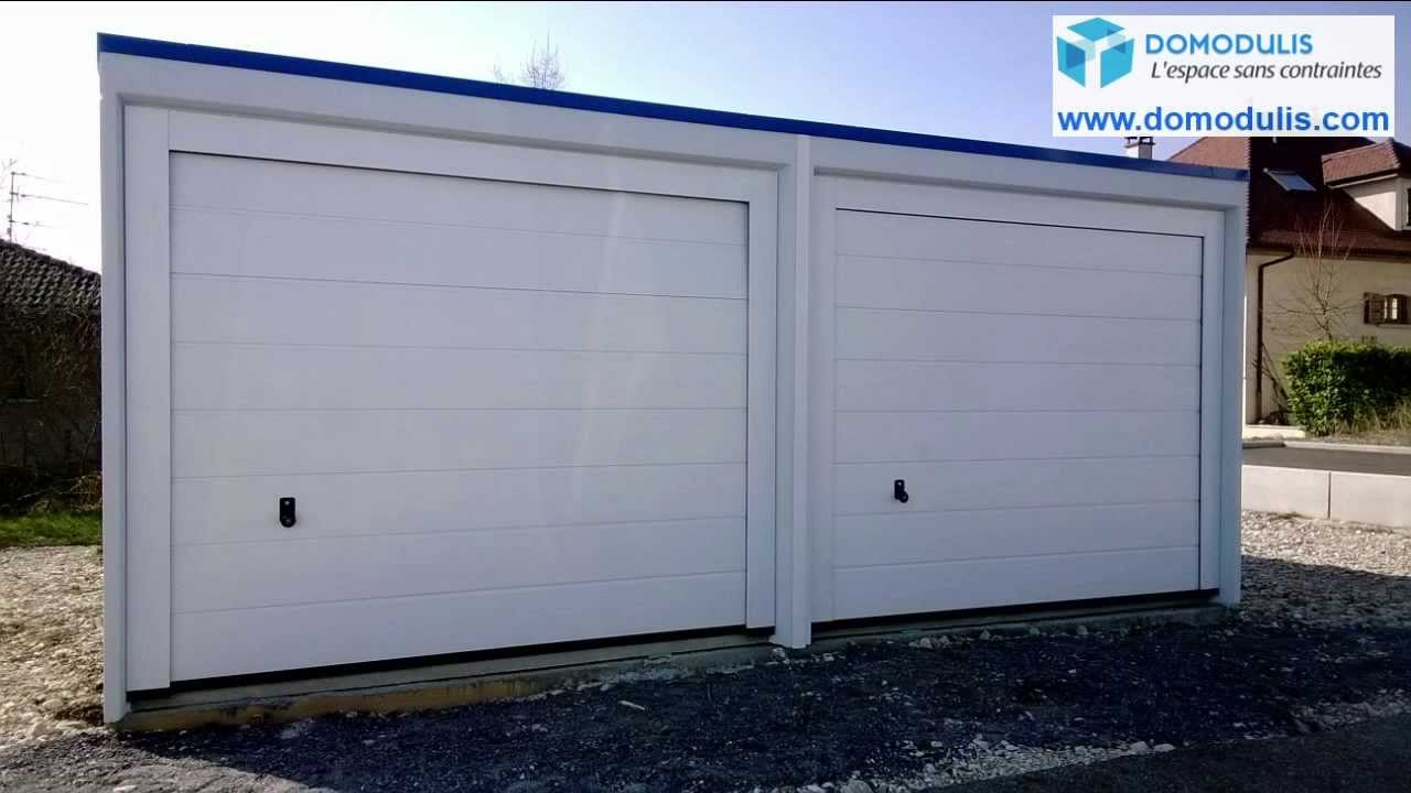 Garage pr fabriqu b ton rh ne alpes sud de la france garage b ton monobloc youtube - Garage prefabrique beton ...