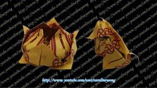 CYS教程】敬神摺紙~小蓮花の一(Origami~Lotus)