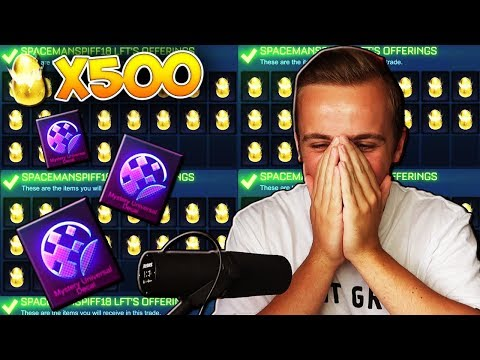The BIGGEST & BEST Golden Egg Opening ON YOUTUBE! | Opening 500 Golden Eggs In Rocket League... thumbnail