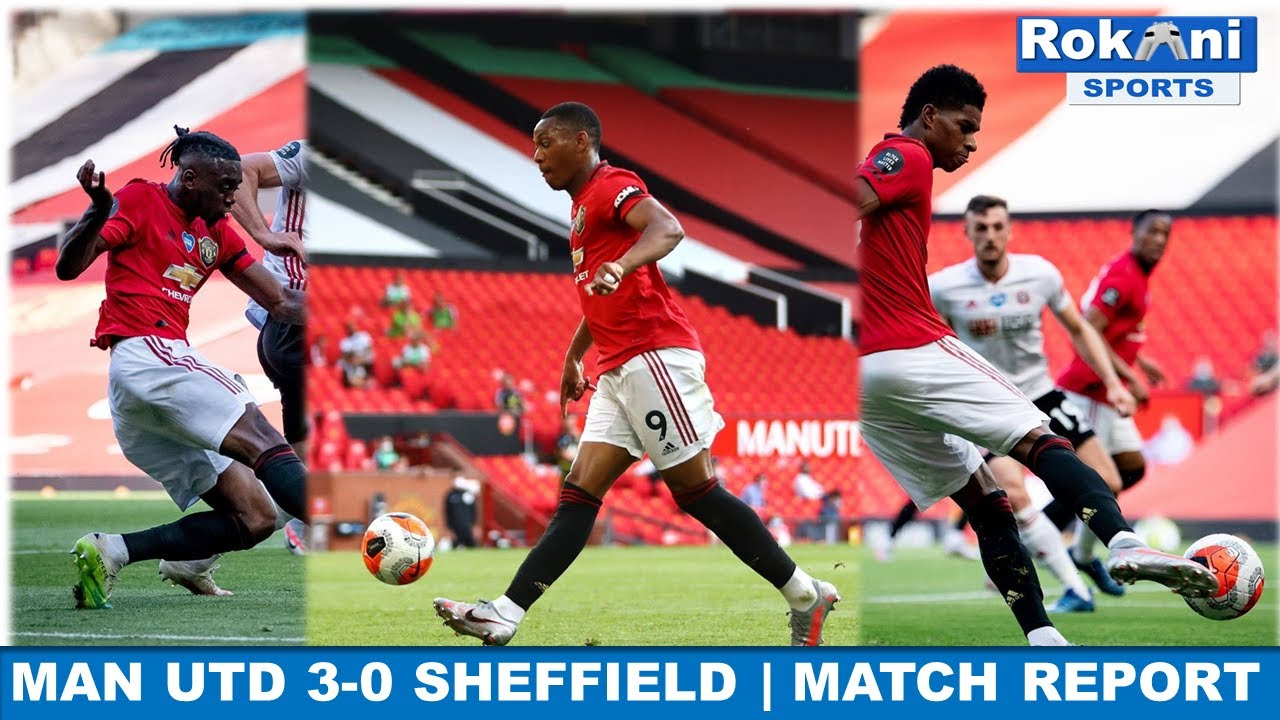 Manchester United vs. Sheffield United - Football Match Report ...