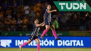 Rayadas retoma la ventaja sobre Tigres en el Clásico Femenil